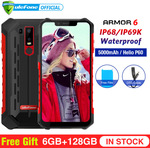 "Ulefone Armor 6 IP68 Phone - Red/Grey (6.2"", 6GB/128GB, NFC, B28, Dual 4G) $311.19 US (~$441.22 AU) Delivered @ AliExpress"