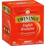 Twinings Tea Bags Pk 10 $1 (Save $1.70) @ Woolworths