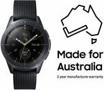 Samsung SM-R810NZKAXSA Smart Galaxy Watch (42mm) $399 Delivered @ Amazon AU
