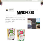 Win 1 of 5 Biryani Prize Packs from The Spice Tailor Worth $50 from MiNDFOOD