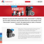 Free Laptop Backpack (Worth $59.95) when Buying $39.95 Any Thermoskin Products