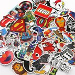Pack of 100 Stickers/Decals $7.28 + Delivery (Free with Prime or $49 Spend) @ UTAS Amazon AU