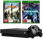 Xbox One X 1TB Console + The Division 2 Token + Crackdown 3 Bundle $569 + Delivery @ Big W eBay