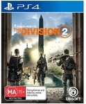 [PS4, XB1] Tom Clancy's: The Division 2 $29 C&C/ $100 Spend*/ +$3.90 Delivery* @ BIG W (Online Only)