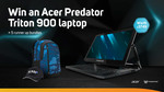 "Win an Acer Predator Triton 900 17.3"" Gaming Laptop Worth $6,805 from Scan"