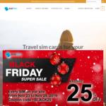 JUSTSIM Black Friday Promo – 25% off Storewide & Extra Data Promotion