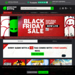 [PC] Black Friday Sale: Buy 1 Game Get 5 Free @ Green Man Gaming