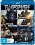 Transformers: 5-Movie Collection (Blu-ray) $20.45 + Delivery (Free w Prime) @ Amazon AU