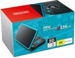 New Nintendo 2DS XL Console Black Blue $150 Delivered @ Amazon AU