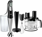 Braun Multiquick 7 Hand Blender MQ777 $112.99 Delivered @ Amazon AU