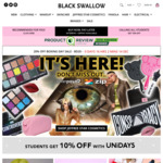 Black Swallow 20% off Boxing Day Sale