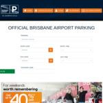 20% off Brisbane Airport Parking @ BNE
