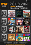 Win 1 of 200 Steam Game Bundles from Fanatical
