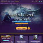 [PC] Steam - Monster Hunter World - $18.99 US (~$28.25 AUD) - Chrono GG