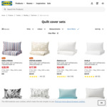 Up to 40% off Quilt Cover Sets (e.g. STILLSAMT Quilt Cover and Pillowcase 150x200/50x80 cm² $14.99) @ IKEA
