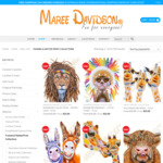 30% off Maree Davidson Art Matted Prints + Delivery ($0 with $35 Spend) @ Maree Davidson Art