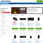 [PC] Bonus Doom Eternal with Purchase of Logitech G Products of $149 or More @ Harvey Norman