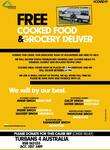 [NSW, QLD, ACT] Free Cooked Food & Groceries Delivered for Socially Isolated, Elderly, Disabled and Needy @ Turbans 4 Australia