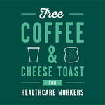 [QLD, NSW, WA] Free Coffee & Cheese Toast for Healthcare Workers @ Sizzler