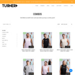 Up to 40% off Activewear Combo Sale + Additional $10 off Code (Free Delivery and Resistance Band) @ Turner Fitness