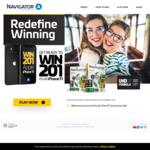 Win 1 of 201 iPhone 11 Handsets from Navigator
