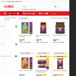 Pataks Lime Pickle Half Price $3.20, Other Pataks Items Half Price @ Coles