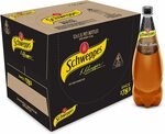 Schweppes Brown Creaming Soda Soft Drink 12x 1.1L & Other Flavours - $15 + Delivery ($0 with Prime/ $39 Spend) @ Amazon AU
