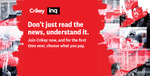 50% off Annual Subscriptions $99 at Crikey