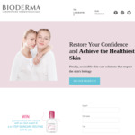 Win a Personalised Skin Pack from BioDerma