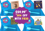 Personalised Recipe StoryBook 30% off ($42.99 + Free Shipping) from StoryAntics