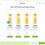 20% off Calendula Baby Care + Shipping/Free over $49 @ Weleda