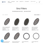 75% off SIRUI Lens Filters / Neutral Density Filters + Shipping (Free with $49 Spend) @ SIRUI Australia