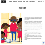 Free NGV Kids Online Resources for Active Thinking and Creativity: Online Events, Workshops, E-Books, Animation App, Games