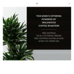 1.25kg Coffee $41.25 Delivered at Inglewood Coffee