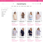 Tops $6 (Over 1000 Styles) @ Rockmans