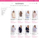 Tops $6 (Over 1000 Styles) @ Rockmans