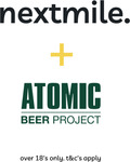 Win 1 of 25 Double Pass to Beer Tasting, $25 Prepaid Gift Card & a Gift Bag from Nextmile & Atomic Beer Project