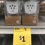 Int'l to AU Mains Travel Adaptor $1/Twin Pack Double Adaptor $3/Dual USB Adaptor $5 @ Target (In-store Only)