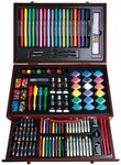 Art Box Set for Kids Painting, Xmas Gifts, 123pcs, Wooden Box with Draw $41.60 + $9.90 Postage @ Artoys