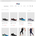 Up to 70% off Sitewide @ Fila