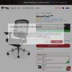 NeueChair Silver $789, Obsidian $889 Delivered @ Secretlab