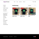 Exit Brewing Mens and Womens T-Shirts $11.20 (44% off) and 20% off All Other Craft Beer Merchandise at LiquorCloset