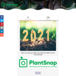 Win 1 of 3 Amazon Giftcards Worth $2021 with Plantsnap