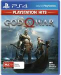 [PS4] PlayStation Hits Titles: God of War, Horizon Zero Dawn, Last of Us & More $12 Each @ JB Hi-Fi