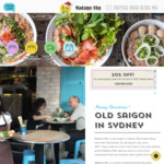 [NSW] 20% off All Takeaway @ Madame Nhu, Surry Hills