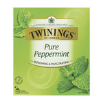 ½ Price Twinings Pure Peppermint Tea Bags 80 Pack $5.60 in-Store C&C @ Coles