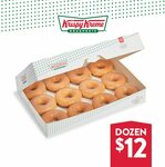 [SA] 12 Original Glaze Doughnuts $12 @ Krispy Kreme South Australia