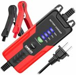 GOOLOO 2amp Smart 12V Battery Charger, Battery Maintainer $38.99 Delivered @ GOOLOO via Amazon AU