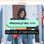 50% off Everything + $8 Shipping (+ Free Returns, Gift Wrapping & Measuring Tape) @ Absent Society
