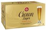 Crown Lager Beer 24 x 375mL Bottles - $52 Delivered @ CUB via Kogan Marketplace